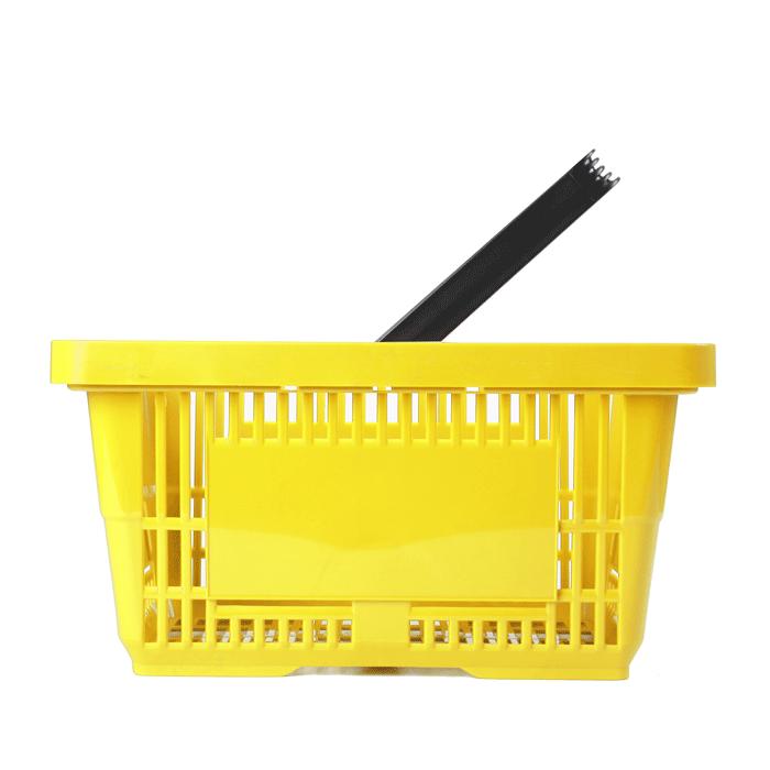 Einkaufskorb gelb Einzelgriff