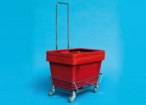 Einkaufskörbe Zubehör Stapelwagen Extra